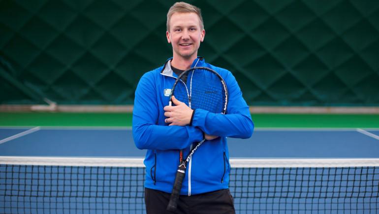 Tomáš Braun – trenér tenisové školičky